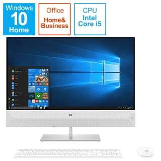 6DU71AA-AAAE デスクトップパソコン Pavilion All-in-One 27-xa0000 G1モデル [27型 /HDD:1TB /SSD:256GB /メモリ:8GB /2019年10月モデル]