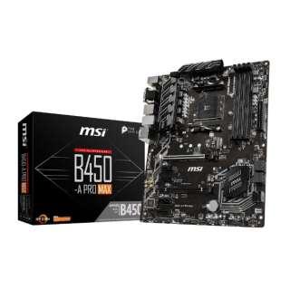 マザーボード MSI B450-A PRO MAX B450-APROMAX [ATX /Socket AM4]