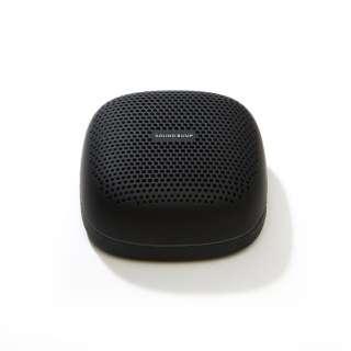 SP-S10BTK ブルートゥーススピーカー SOUND BUMP ブラック [Bluetooth対応 /防滴]
