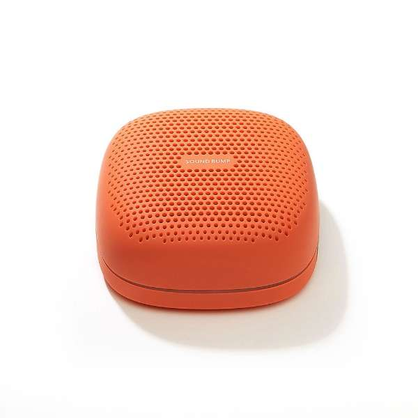 SP-S10BTT ブルートゥーススピーカー SOUND BUMP オレンジ [Bluetooth対応 /防滴]
