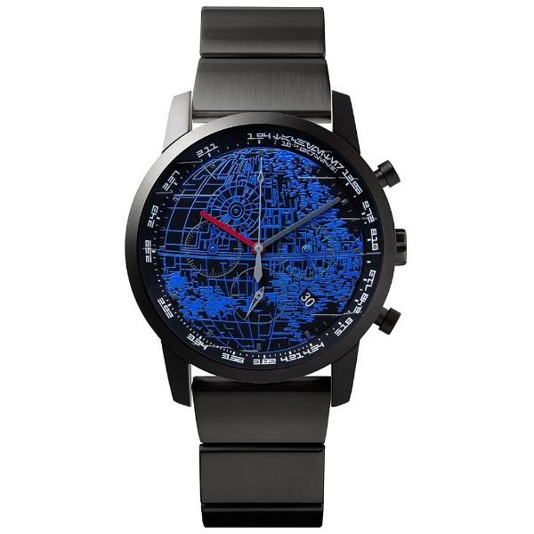 wena wrist pro Chronograph set/STAR WARS limited edition THE DARK SIDE WNW-SB14A/B [プレミアムブラック]