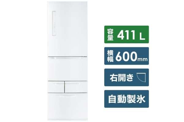 東芝 5ドア冷蔵庫 GR-R41GBK(411L)