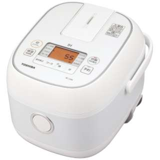 RC-5XN-W 炊飯器 ホワイト [3合 /IH]