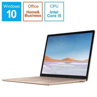 SurfaceLaptop3 [13.5型 /SSD 256GB /メモリ 8GB /Intel Core i5 /サンドストーン/2019年] V4C-00081 ノートパソコン サーフェスラップトップ3