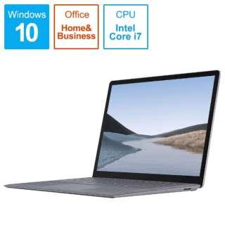 SurfaceLaptop3 [13.5型 /SSD 256GB /メモリ 16GB /Intel Core i7 /プラチナ/2019年] VEF-00018 ノートパソコン サーフェスラップトップ3 【受注生産品】