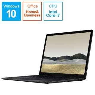 SurfaceLaptop3 [13.5型 /SSD 256GB /メモリ 16GB /Intel Core i7 /ブラック/2019年] VEF-00039 ノートパソコン サーフェスラップトップ3