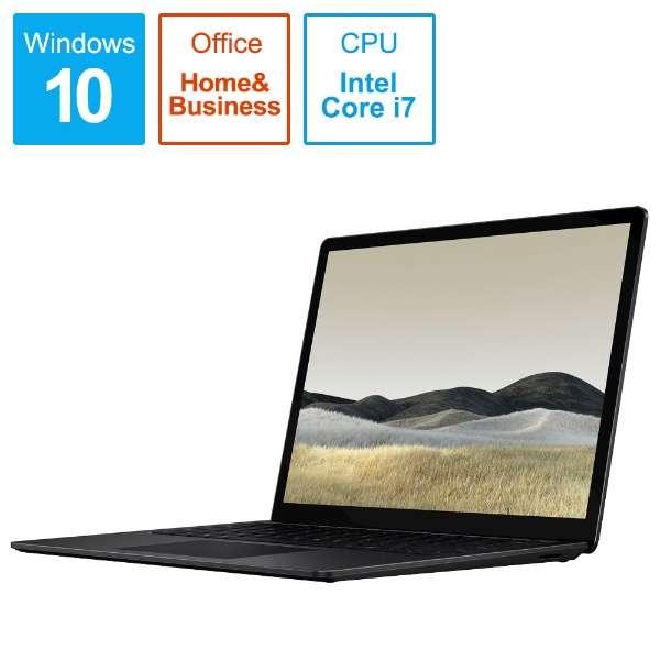 SurfaceLaptop3 [13.5型 /SSD 256GB /メモリ 16GB /Intel Core i7 /ブラック/2019年] VEF-00039 ノートパソコン サーフェスラップトップ3 【受注生産品】