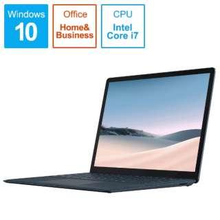 SurfaceLaptop3 [13.5型 /SSD 256GB /メモリ 16GB /Intel Core i7 /コバルトブルー/2019年] VEF-00060 ノートパソコン サーフェスラップトップ3