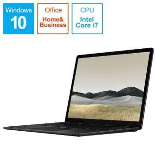 SurfaceLaptop3 [13.5型 /SSD 1TB /メモリ 16GB /Intel Core i7 /ブラック/2019年] VGL-00018 ノートパソコン サーフェスラップトップ3 【受注生産品】