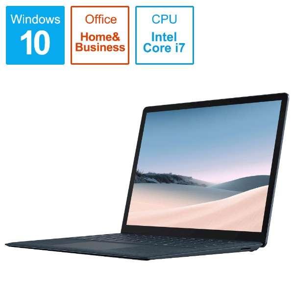 SurfaceLaptop3 [13.5型 /SSD 512GB /メモリ 16GB /Intel Core i7 /コバルトブルー/2019年] VGS-00053 ノートパソコン サーフェスラップトップ3 【受注生産品】