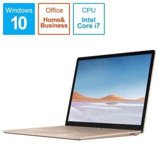 SurfaceLaptop3 [13.5型 /SSD 512GB /メモリ 16GB /Intel Core i7 /サンドストーン/2019年] VGS-00064 ノートパソコン サーフェスラップトップ3