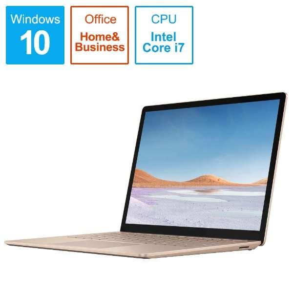 SurfaceLaptop3 [13.5型 /SSD 512GB /メモリ 16GB /Intel Core i7 /サンドストーン/2019年] VGS-00064 ノートパソコン サーフェスラップトップ3 【受注生産品】