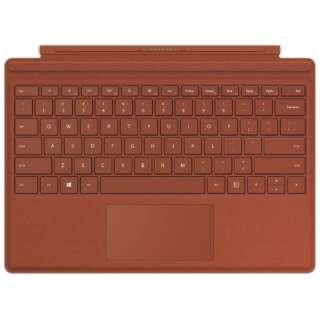 【純正】 Surface Pro Signature タイプカバー ポピーレッド FFP-00119