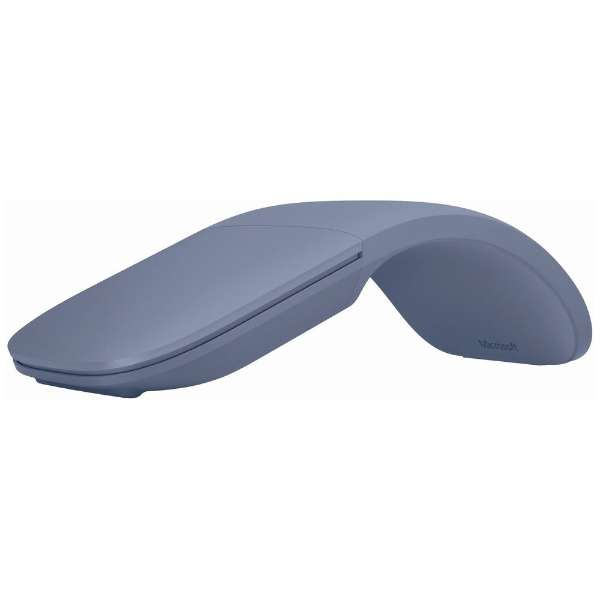 CZV-00071 マウス Surface Arc Mouse アイスブルー [BlueLED /3ボタン /Bluetooth /無線(ワイヤレス)]