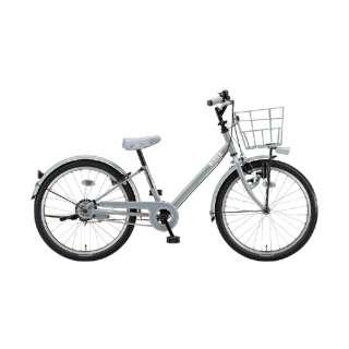 22型 子供用自転車 ビッケ j(E.XBKブルーグレー/シングルシフト)BKJ22【2020年モデル】 【組立商品につき返品不可】