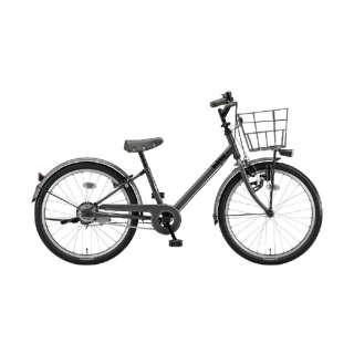22型 子供用自転車 ビッケ j(E.XBKダークグレー/シングルシフト)BKJ22【2020年モデル】 【組立商品につき返品不可】
