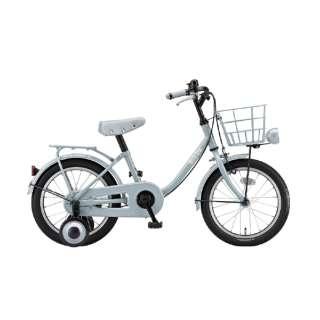 16型 子供用自転車 ビッケ m(E.YBKブルーグレー/シングルシフト)BKM16【2020年モデル】 【組立商品につき返品不可】