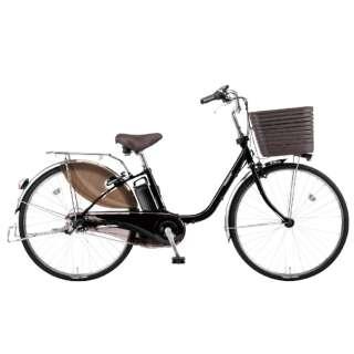 26型 電動アシスト自転車 ビビ・DX(ピュアブラック/内装3段変速)BE-ELD636B【2020年モデル】 【組立商品につき返品不可】