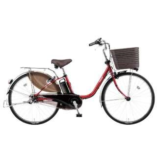 電動アシスト自転車 VIVI・DX フレアレッドパール BE-ELD636R [26インチ /3段変速] 【組立商品につき返品不可】