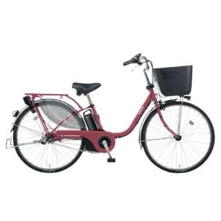電動アシスト自転車 VIVI・EX マットルージュ BE-ELE436R [24インチ /3段変速] 【組立商品につき返品不可】