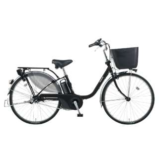 電動アシスト自転車 VIVI・EX マットブラック BE-ELE636B [26インチ /3段変速] 【組立商品につき返品不可】