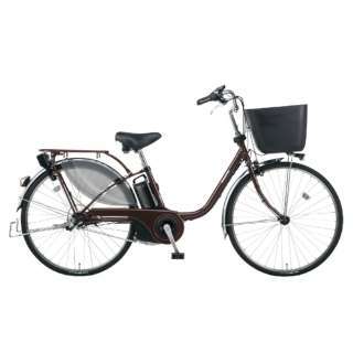 電動アシスト自転車 VIVI・EX ビターブラウン BE-ELE636T2 [26インチ /3段変速] 【組立商品につき返品不可】