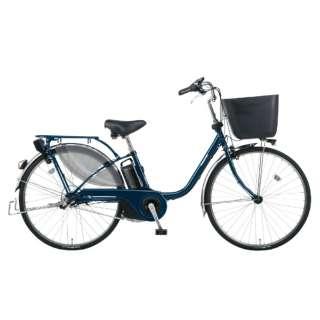 電動アシスト自転車 VIVI・EX USブルー BE-ELE636V2 [26インチ /3段変速] 【組立商品につき返品不可】