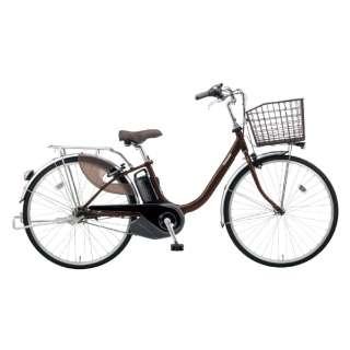 電動アシスト自転車 VIVI・L チョコブラウン BE-ELL432T [24インチ /3段変速] 【組立商品につき返品不可】
