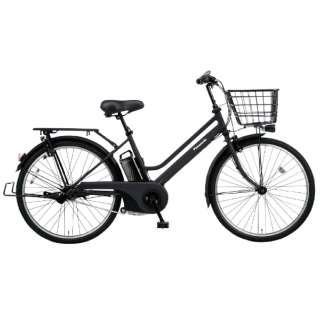 電動アシスト自転車 ティモ・S マットジェットブラック BE-ELST635B [26インチ /3段変速] 【組立商品につき返品不可】