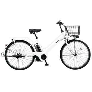 電動アシスト自転車 ティモ・S ファインホワイト BE-ELST635F2 [26インチ /3段変速] 【組立商品につき返品不可】