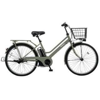 26型 電動アシスト自転車 ティモ・S(マットオリーブ/内装3段変速) BE-ELST635G2【2020年モデル】 【組立商品につき返品不可】