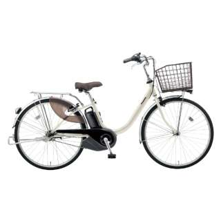 電動アシスト自転車 VIVI・L ウォームシルバー BE-ELL632S [26インチ /3段変速] 【組立商品につき返品不可】