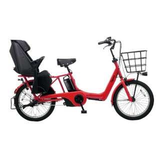 20型 電動アシスト自転車 ギュット・アニーズ・DX(ロイヤルレッド/内装3段変速) BE-ELAD032R【2020年モデル】 【組立商品につき返品不可】
