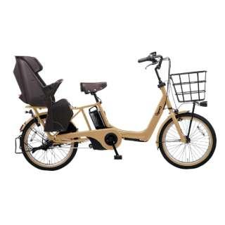 電動アシスト自転車 ギュット・アニーズ・DX デザートイエロー BE-ELAD032Y2 [20インチ /3段変速] 【組立商品につき返品不可】