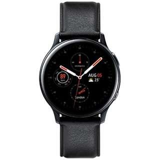 サムスン ウェアラブル端末 Galaxy Watch Active2 40mm ブラック(ステンレス) SM-R830NSKAXJP