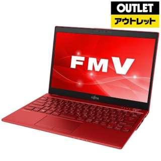 【アウトレット品】 13.3型ノートPC [Win10 Home・Core i5・SSD 256GB・メモリ 4GB・Office] LIFEBOOK UH75/C3  FMVU75C3R ガーネットレッド 【生産完了品】