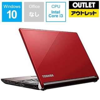 【アウトレット品】 13.3型ノートPC [Core i3・SSD 256GB・メモリ 4GB] PRX73FRASNMMA カーマインレッド 【数量限定品】