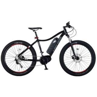 【eバイク】27.5型 電動アシスト自転車 NERONE27.5+(ブラック/外装10段変速) 【組立商品につき返品不可】