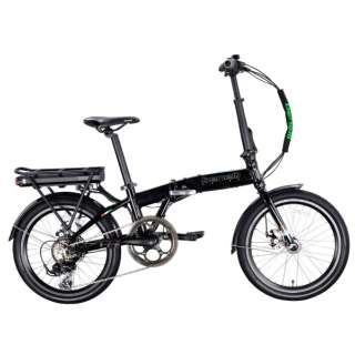 【eバイク】20型 折りたたみ電動アシスト自転車 ZERO N2.0(ブラック/外装7段変速) 【組立商品につき返品不可】