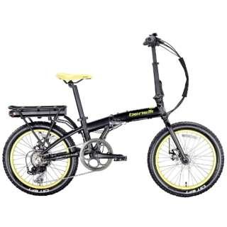 【eバイク】20型 折りたたみ電動アシスト自転車 ZERO N2.0FAT (マットブラック/外装7段変速) 【組立商品につき返品不可】