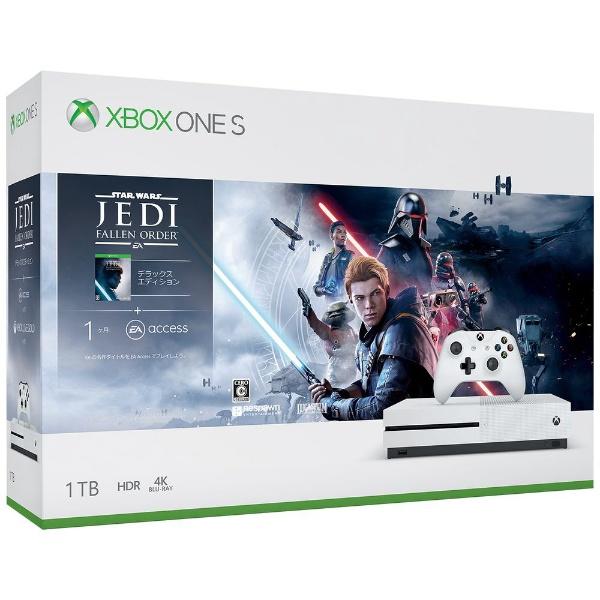Xbox One S Star Wars ジェダイ:フォールン・オーダー デラックス エディション 同梱版 [1TB]