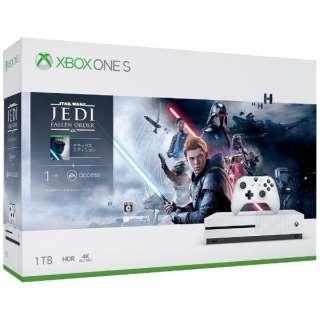 Xbox One S 1TB(Star Wars ジェダイ:フォールン・オーダー デラックス エディション同梱版) [ゲーム機本体]