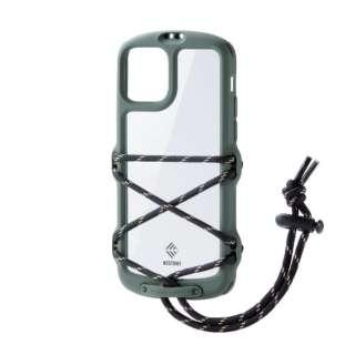 iPhone 11 Pro NESTOUT Fes&Camp オリーブ PM-A19BNESTFKH