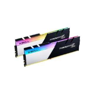 増設メモリ F4-3600C18D-32GTZN [DIMM DDR4 /16GB /2枚]