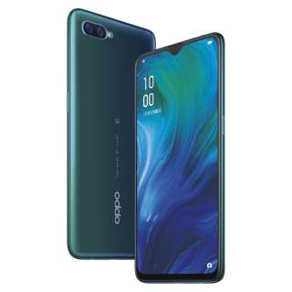 【防水・防塵・おサイフケータイ】OPPO Reno A ブルー「CPH1983BL」Snapdragon 710 6.4型・メモリ/ストレージ:6GB/64GB nanoSIMx2 DSDV対応 docomo/au/Rakuten/Y!mobileSIM対応 SIMフリースマートフォン