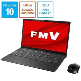 FMVA77D3B ノートパソコン FMV LIFEBOOK AH77/D3 ブライトブラック [15.6型 /intel Core i7 /HDD:1TB /SSD:256GB /メモリ:8GB /2019年10月モデル]