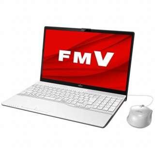 FMVA42D3W ノートパソコン LIFEBOOK(ライフブック) AH42/D3 プレミアムホワイト [15.6型 /intel Celeron /SSD:256GB /メモリ:4GB /2019年10月モデル]