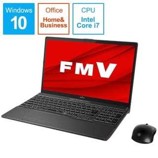 FMVAXD3B ノートパソコン LIFEBOOK(ライフブック)AH-X/D3 ブライトブラック [15.6型 /intel Core i7 /SSD:1TB /メモリ:8GB /2019年10月モデル]