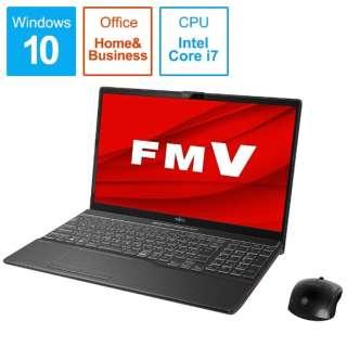 FMVA53D3B ノートパソコン FMV LIFEBOOK AH53/D3 ブライトブラック [15.6型 /intel Core i7 /SSD:512GB /メモリ:8GB /2019年10月モデル]