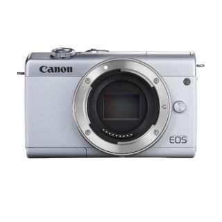 EOS M200 ミラーレス一眼カメラ ホワイト [ボディ単体]